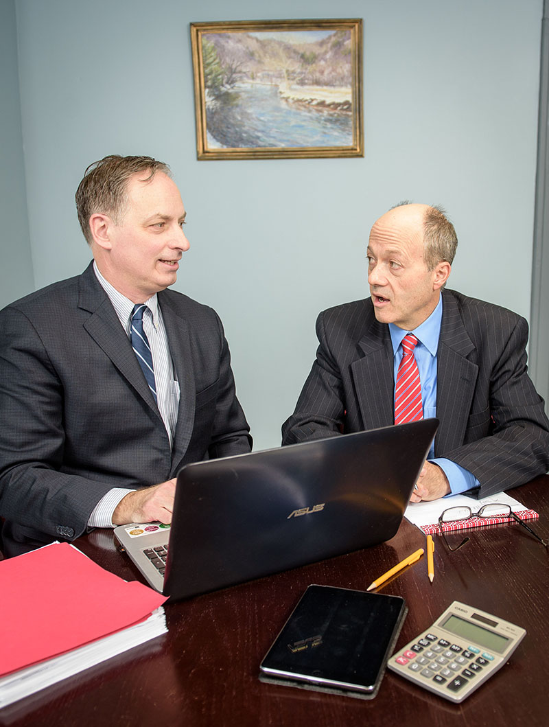 Jim Barlow, CPA and Charles Miller, Tax Attorney